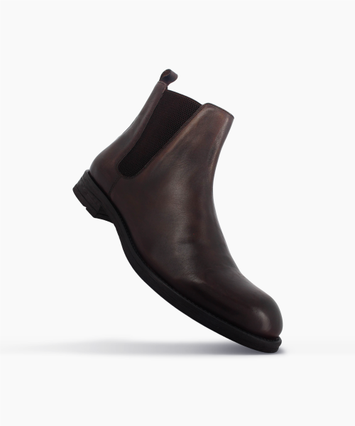 Bottines CIVU Marron