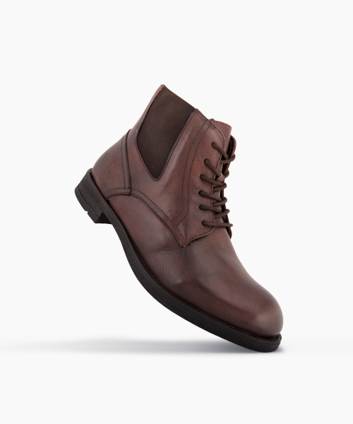 Bottines CUSO Marron
