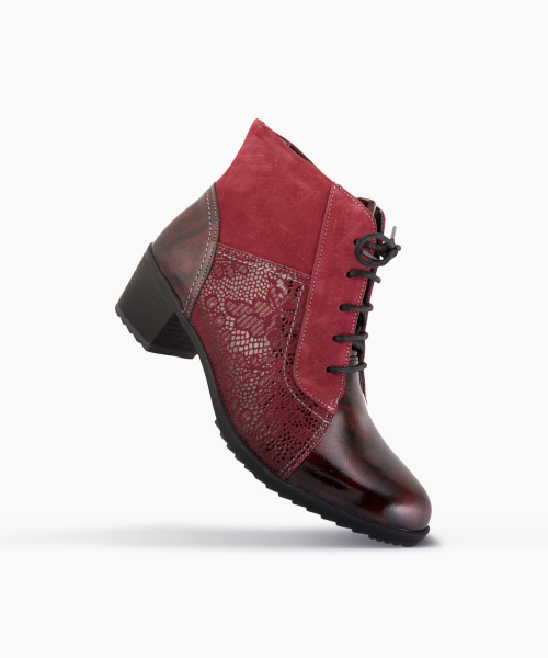 Bottines MACA Bordeaux