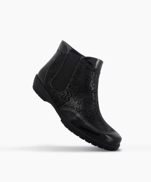 Bottines PUNO Noir