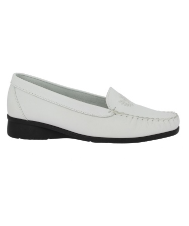 Mocassin GERVAISE Blanc
