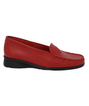 Mocassin GERVAISE Rouge
