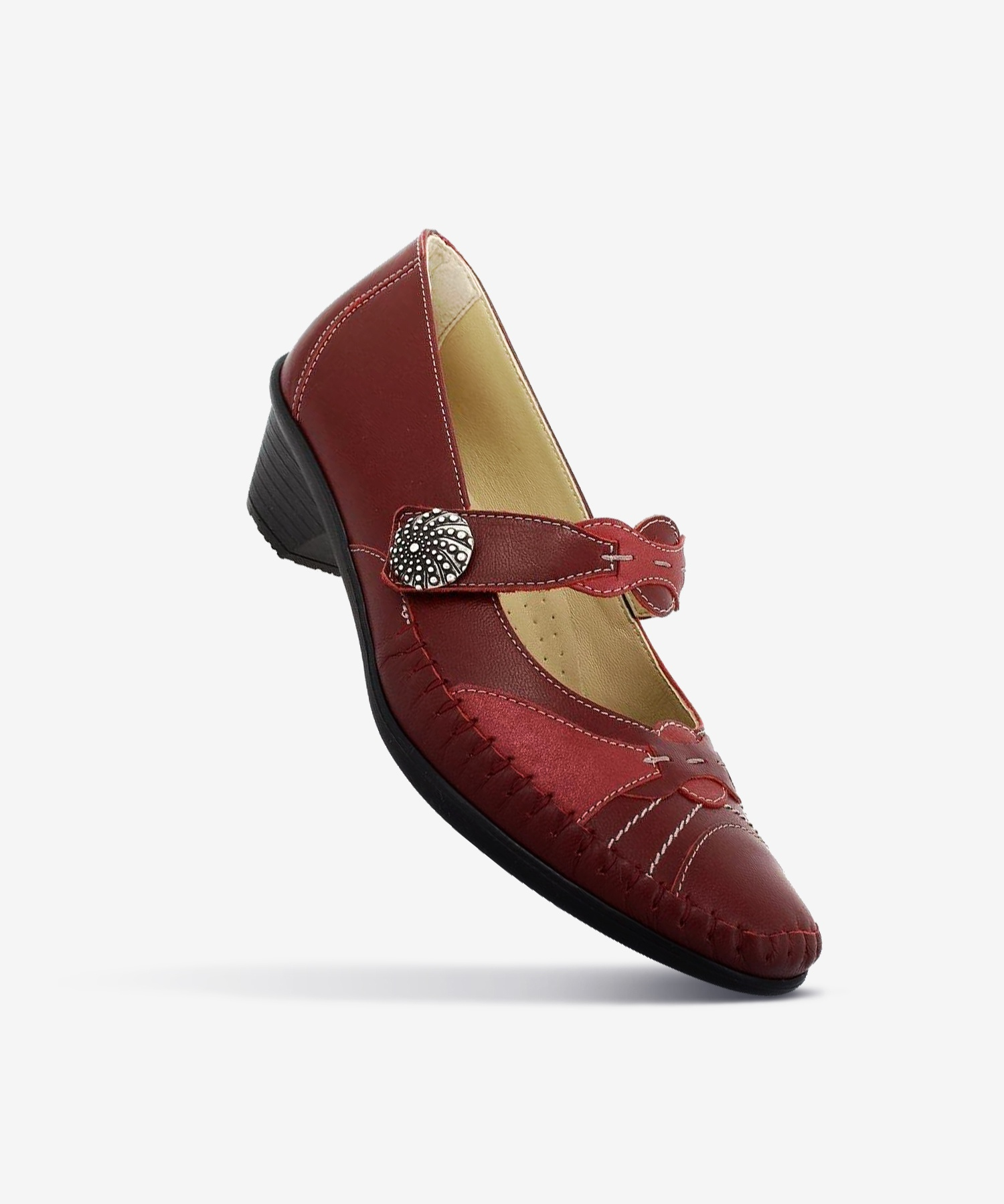 Mocassins GOLDEN Cerise