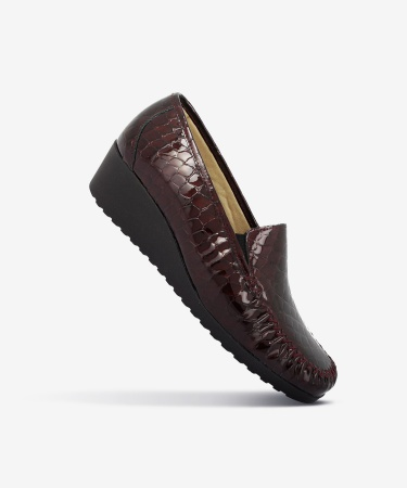 Mocassins KASTOR Bordeaux