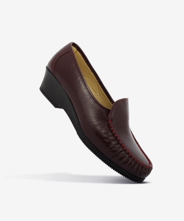 Mocassins OLYM Bordeaux