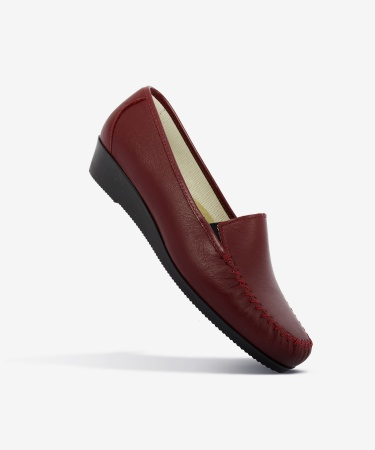 Mocassins PIROUETTE Rouge