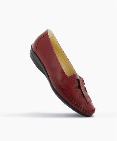 Mocassins ULIAGE Cerise