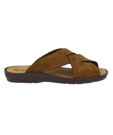 Sandale BAGNOLS Cognac Nubuck