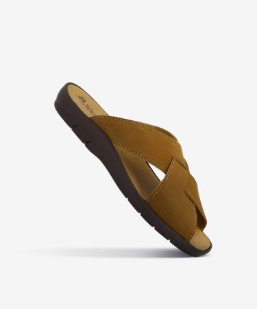 Sandales BAGNOLS Noisette Nubuck