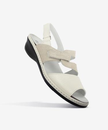 Sandales BELLA Blanc