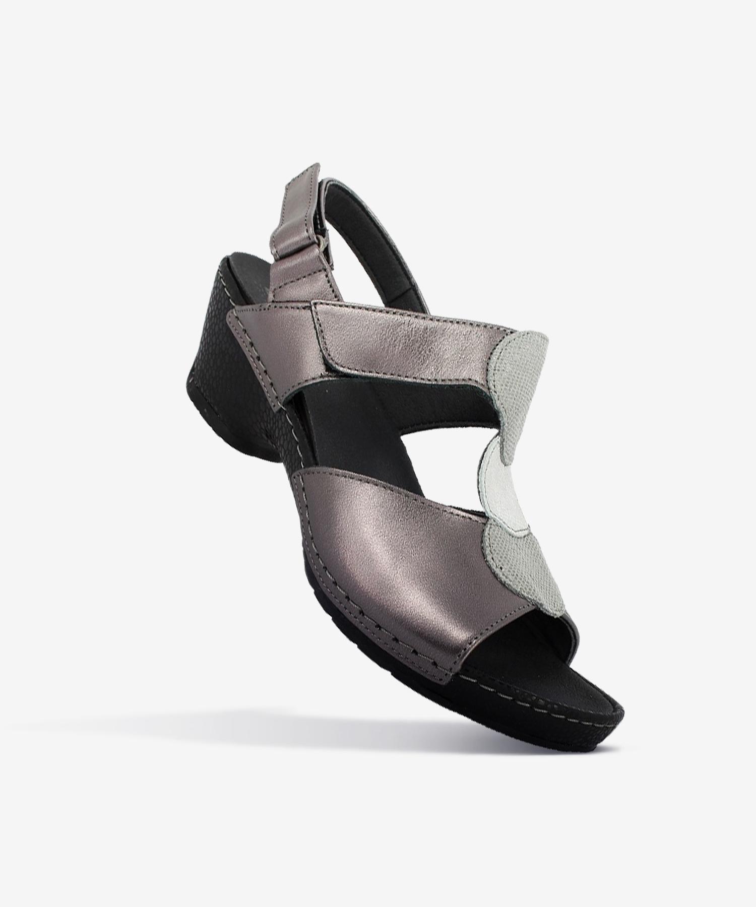 Sandales CHARLIE Acier