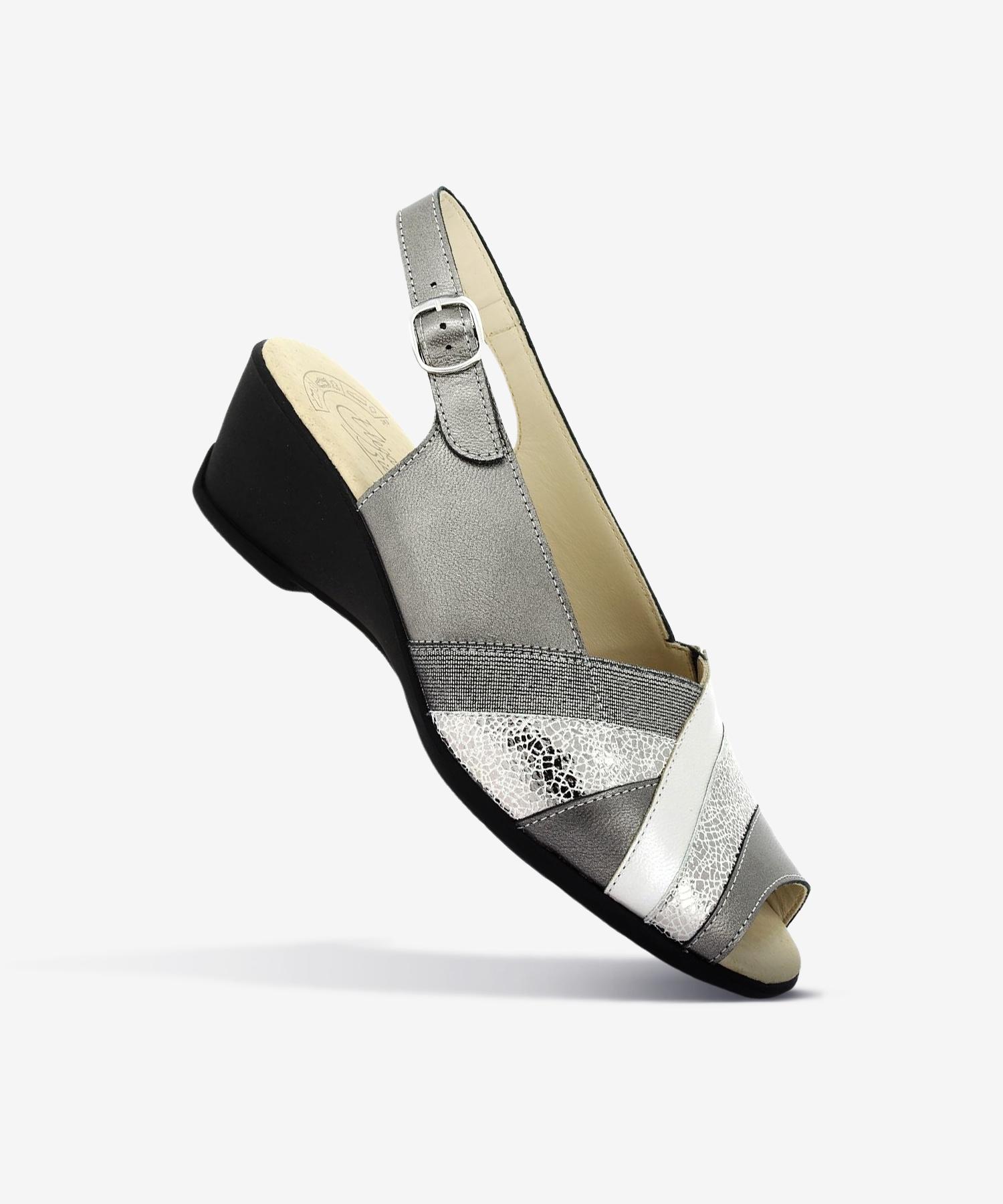 Sandales GAMA Acier