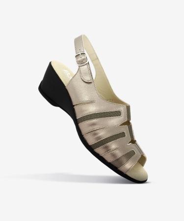 Sandales GIBON Bronze