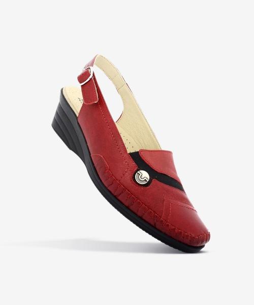 Sandales HIBOU Rouge