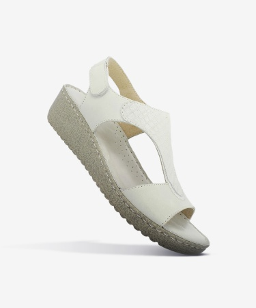 Sandales JULIA Blanc