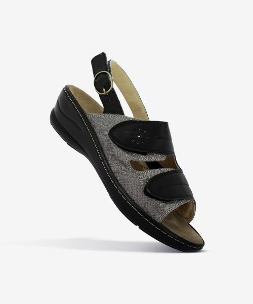 Sandales LILOU Argent