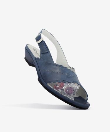 Sandales LINA Bleu