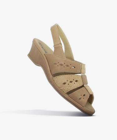 Sandales MAYA Moka