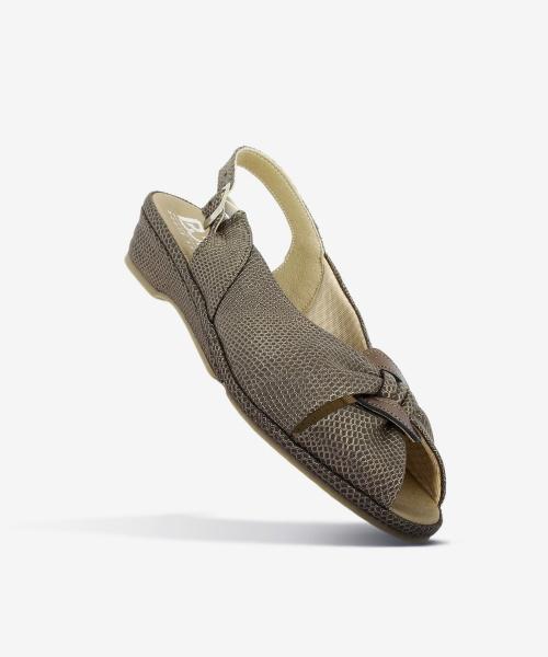 Sandales OLIVIA Marron