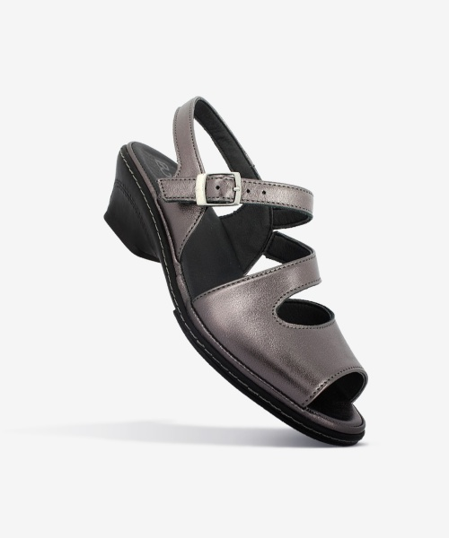 Sandales VANIA Acier